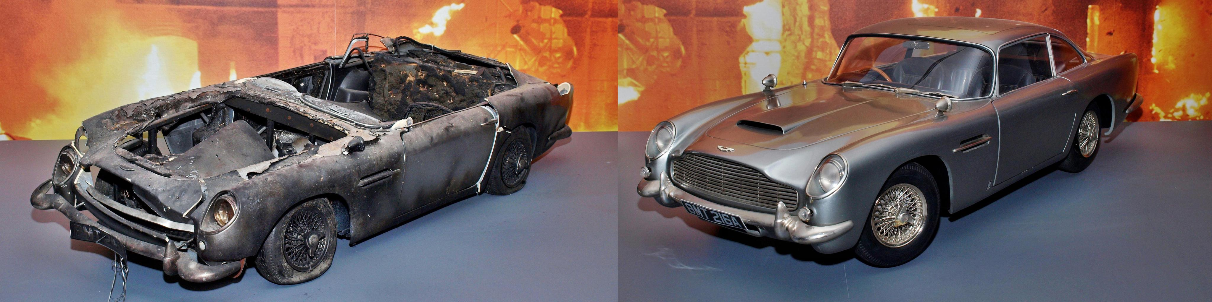 Aston Martin DB5 – суперавтомобиль суперагента. Фотография Малец Михаила Георгиевича