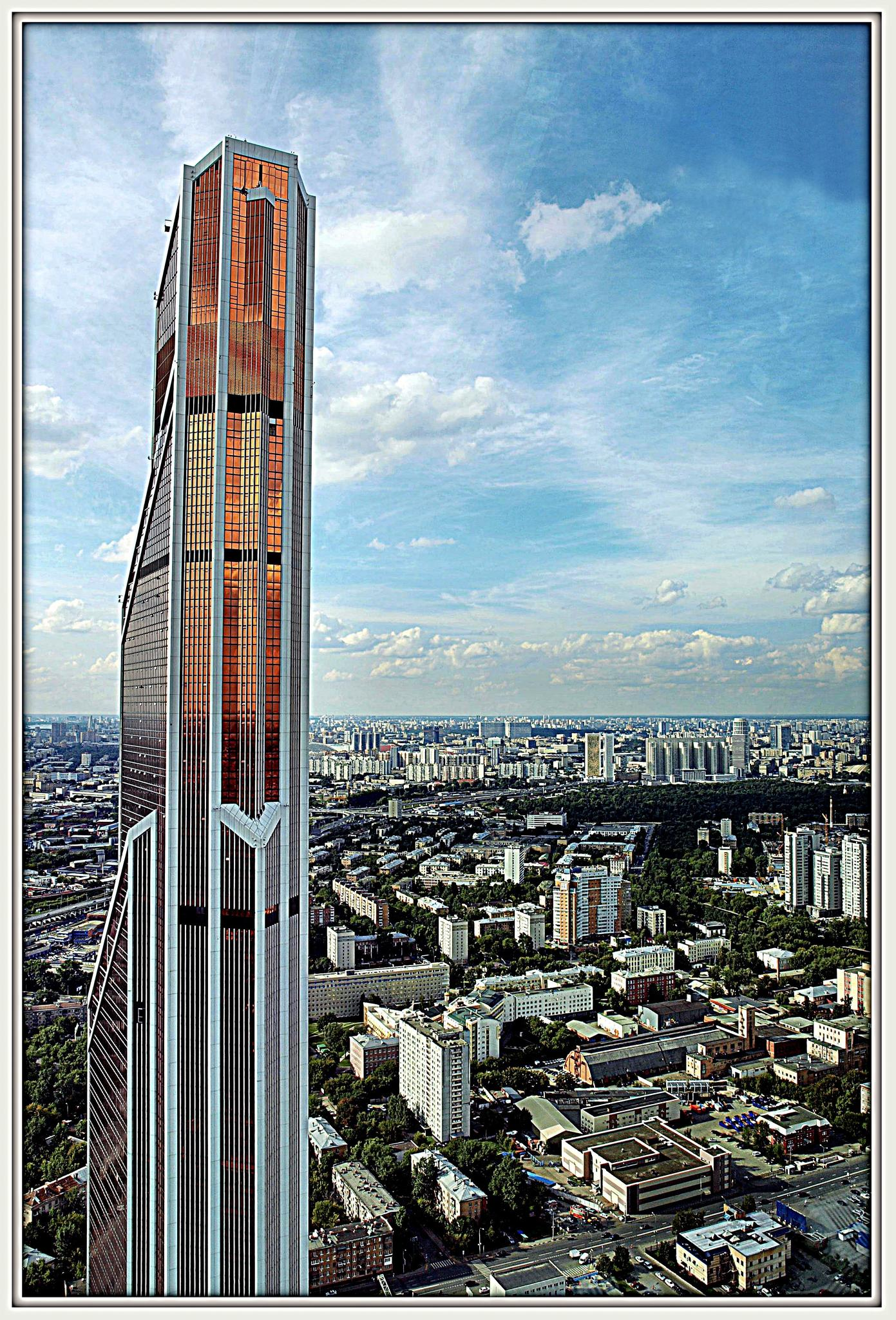 Башня Меркурий Сити. Фотография Малец Михаила Георгиевича
