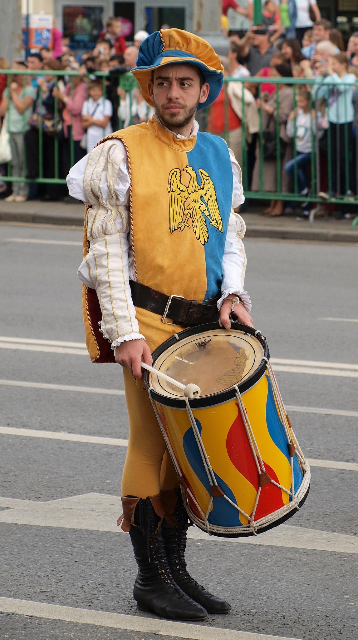 Задумчивый барабанщик. Фотография Малец Михаила Георгиевича
