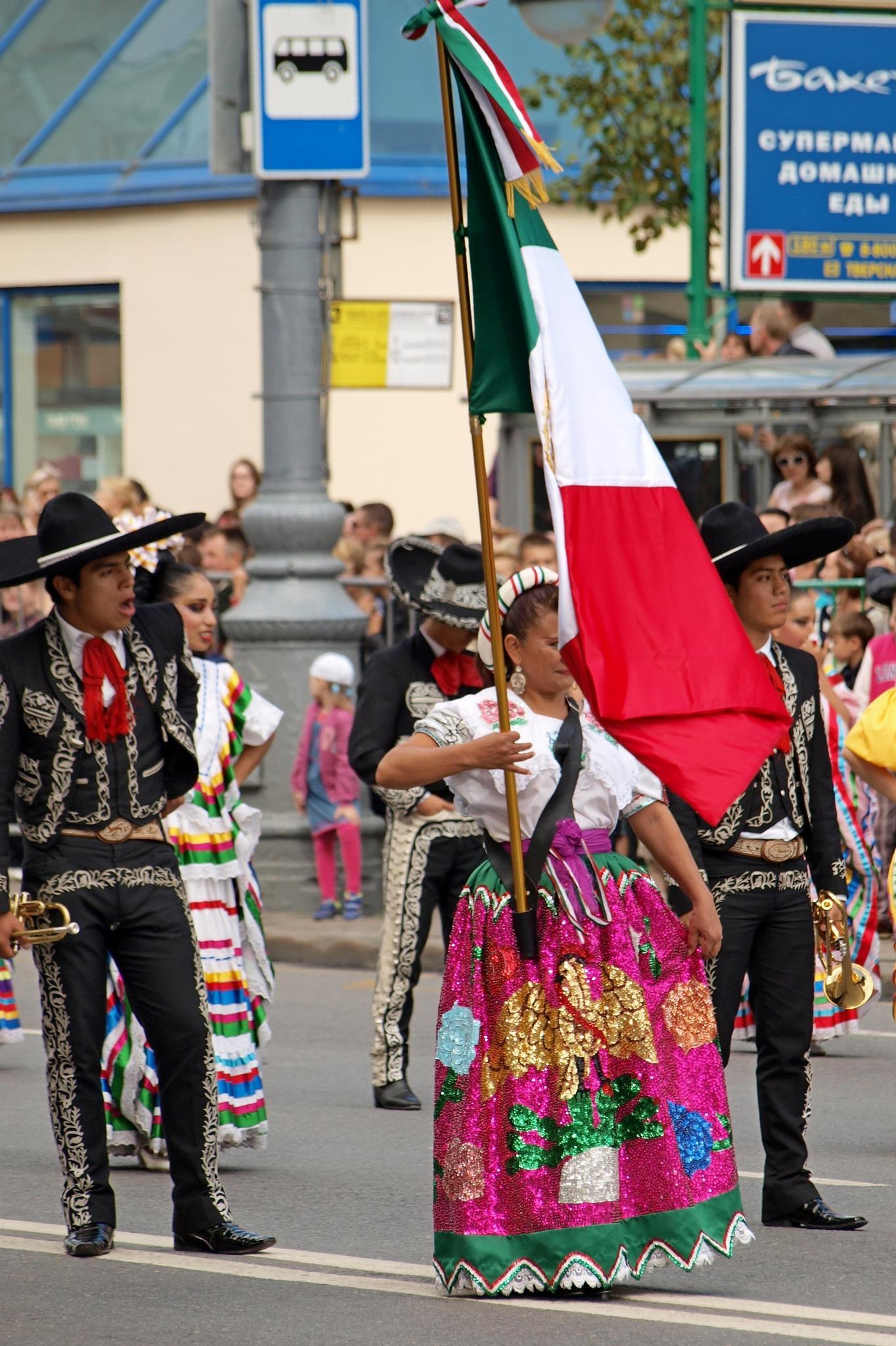 Мексиканские музыканты. Фотография Малец Михаила Георгиевича