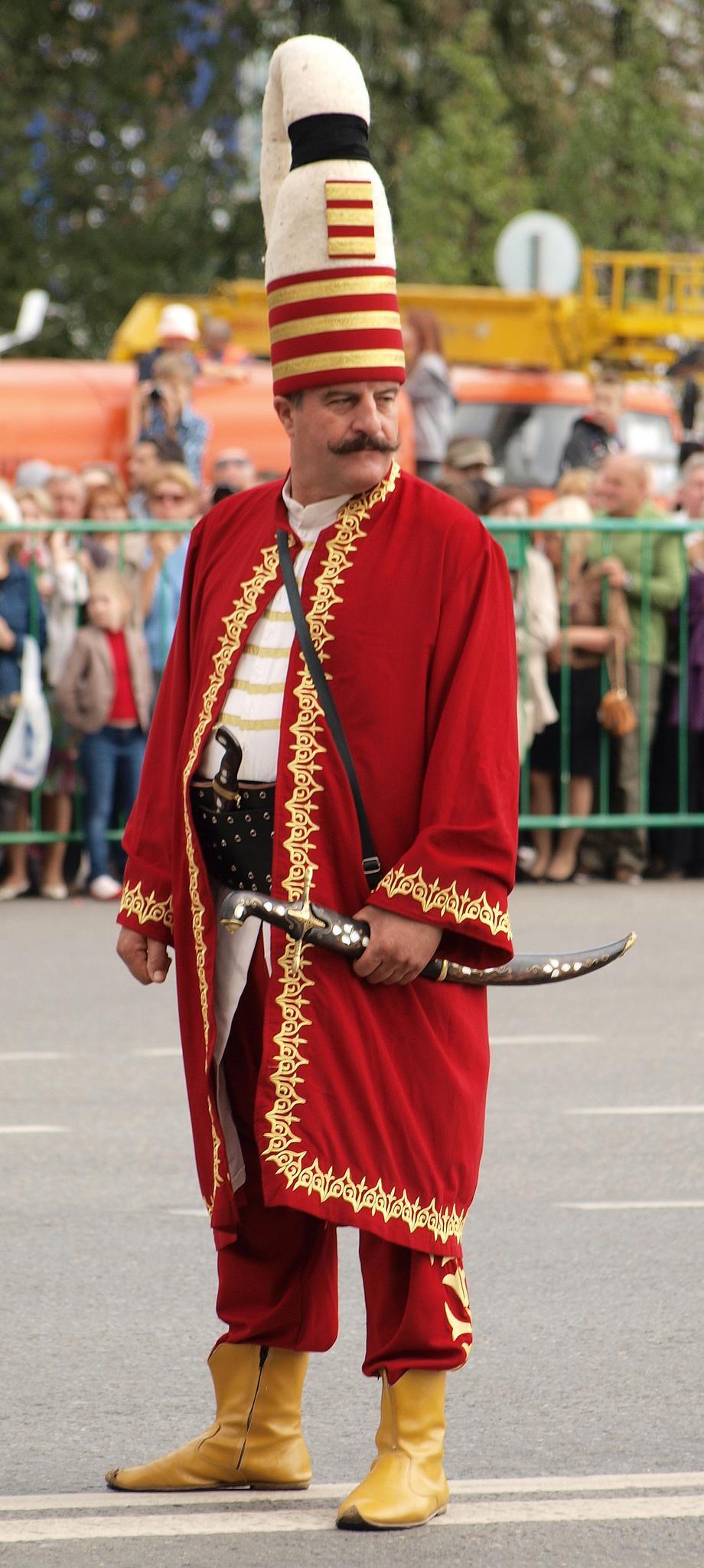 Главный янычар оркестра «Мехтер» города Изник. Турция. Фотография Малец Михаила Георгиевича