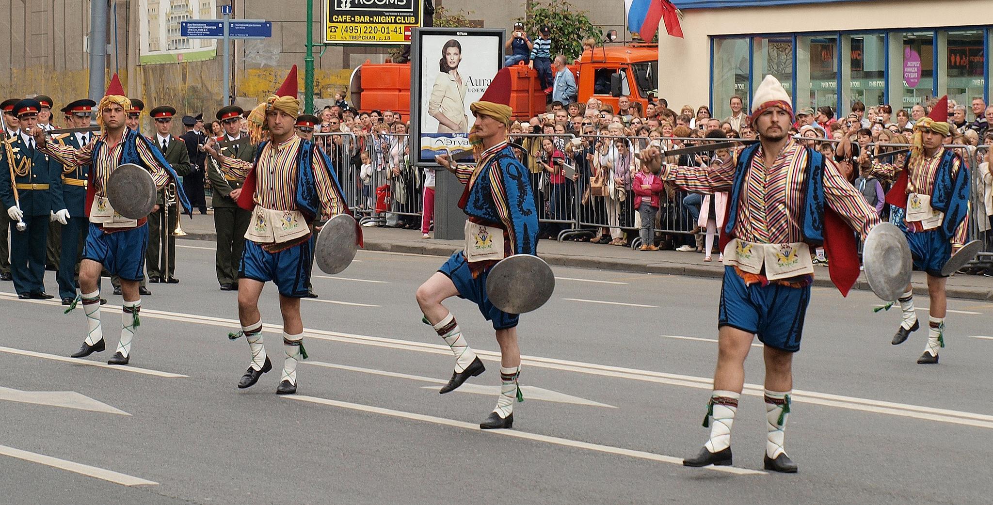 Танец янычар. Фотография Малец Михаила Георгиевича
