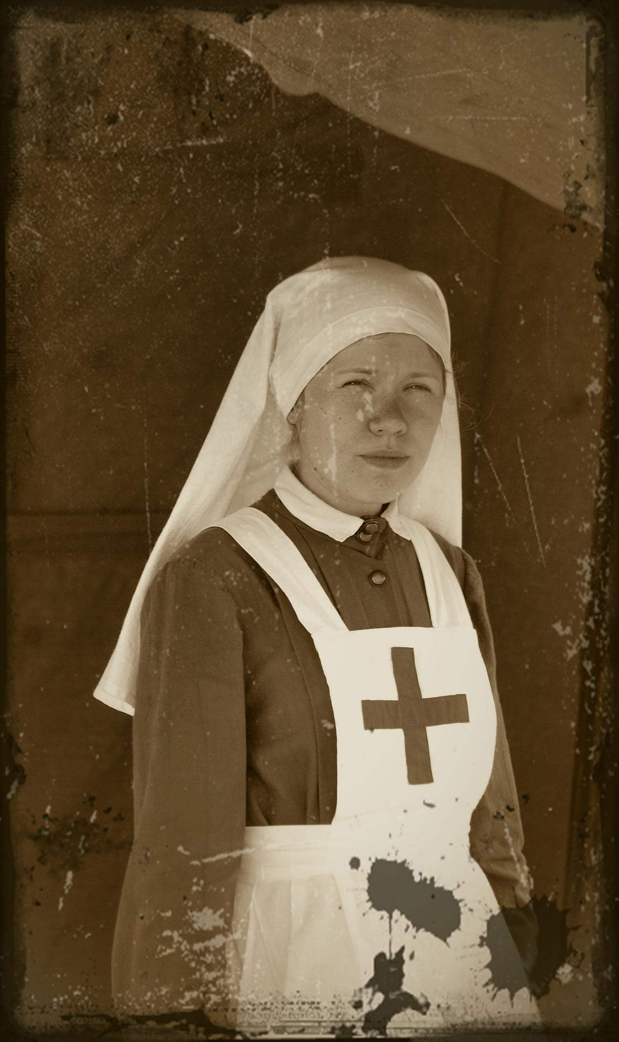 Медсестра. Фотография Малец Михаила Георгиевича