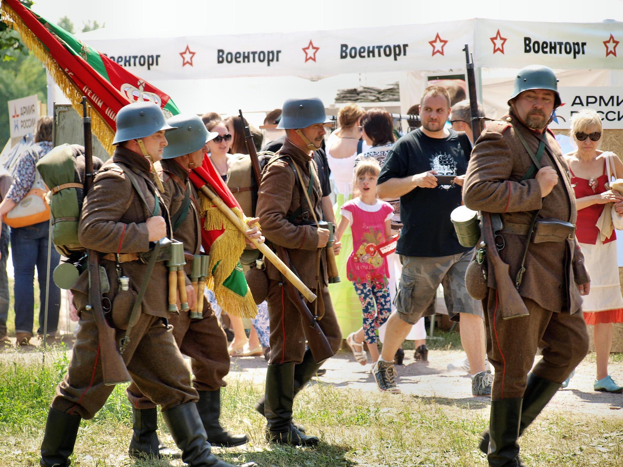 Воины Люблянского 17-го пехотного полка Австро-Венгерской армии. Фотография Малец Михаила Георгиевича