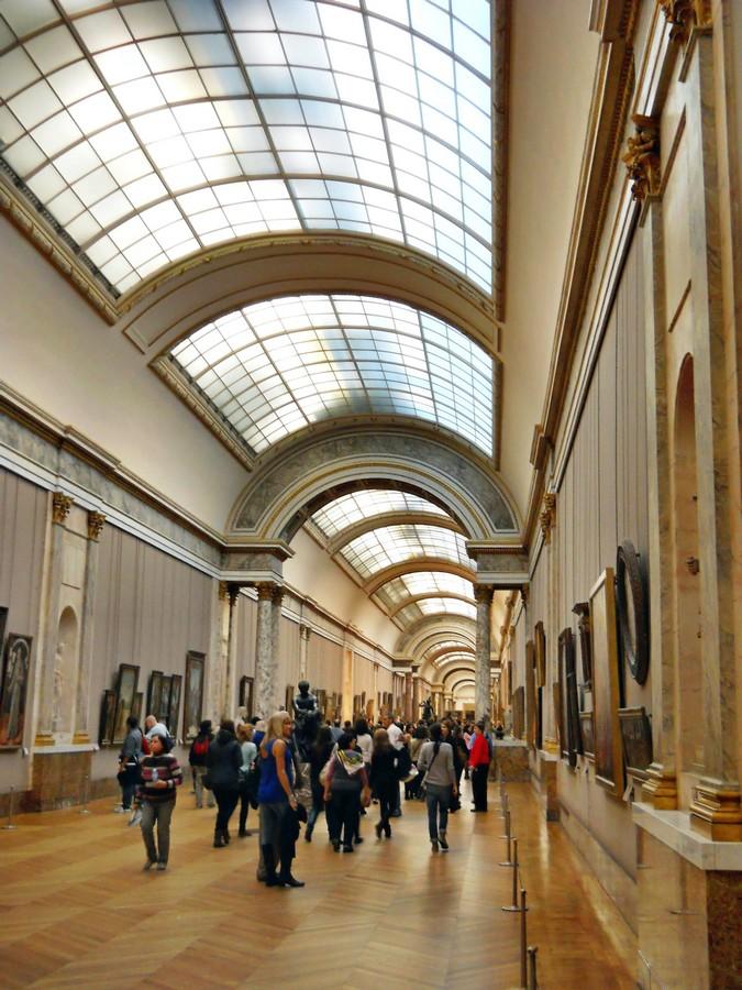 В залах Лувра 2. Фотография Малец Михаила Георгиевича