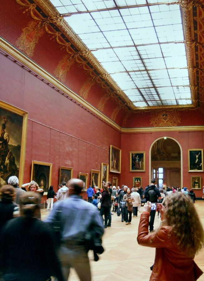 75-й зал галереи Денон Лувра. Фотография Малец Михаила Георгиевича