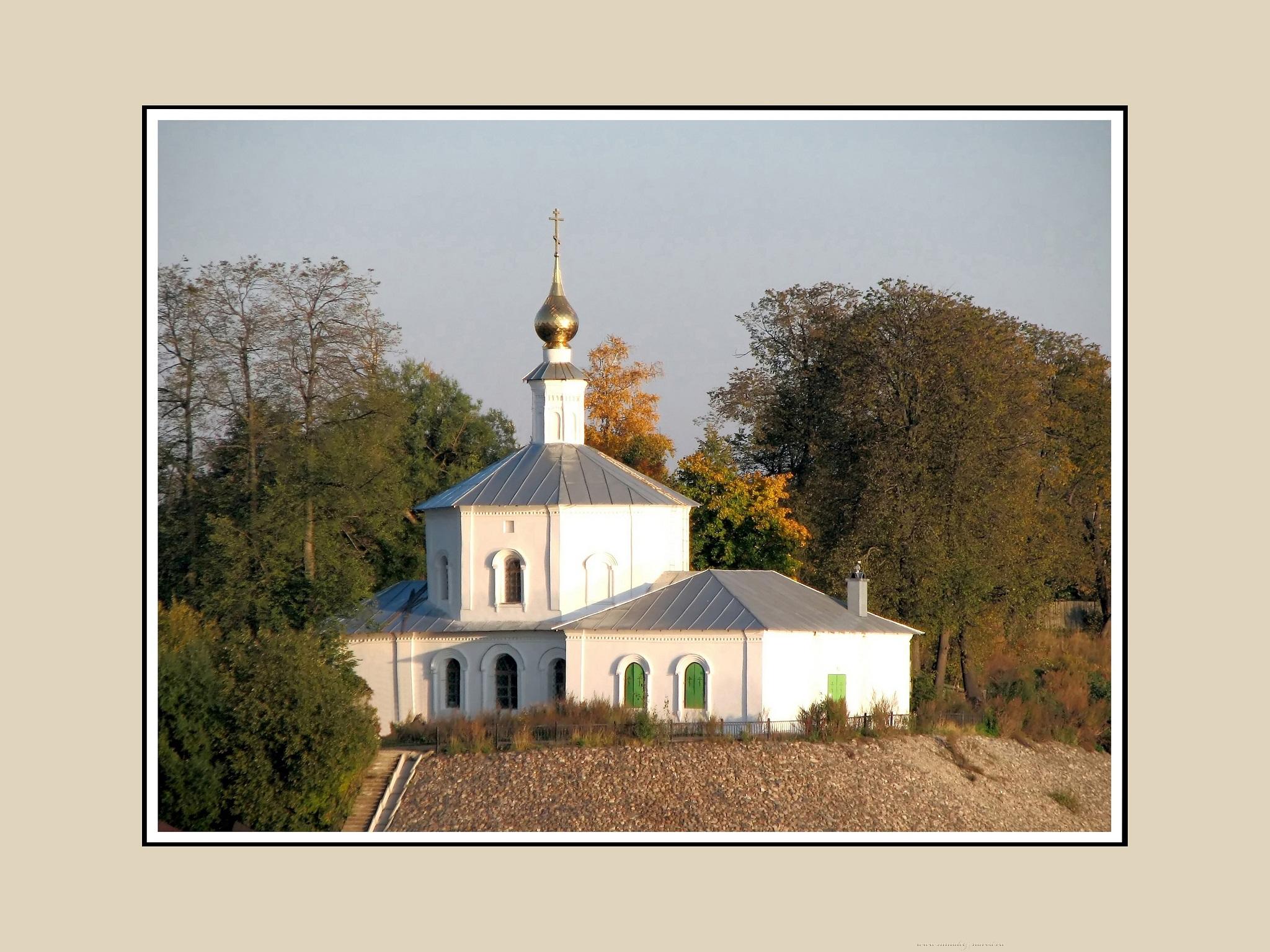 Волго-Балт. Церковь