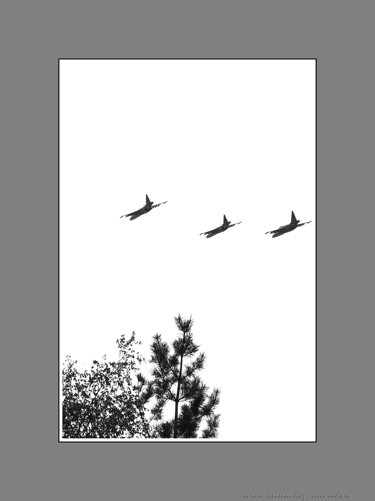 Грачи (Су-25) улетели