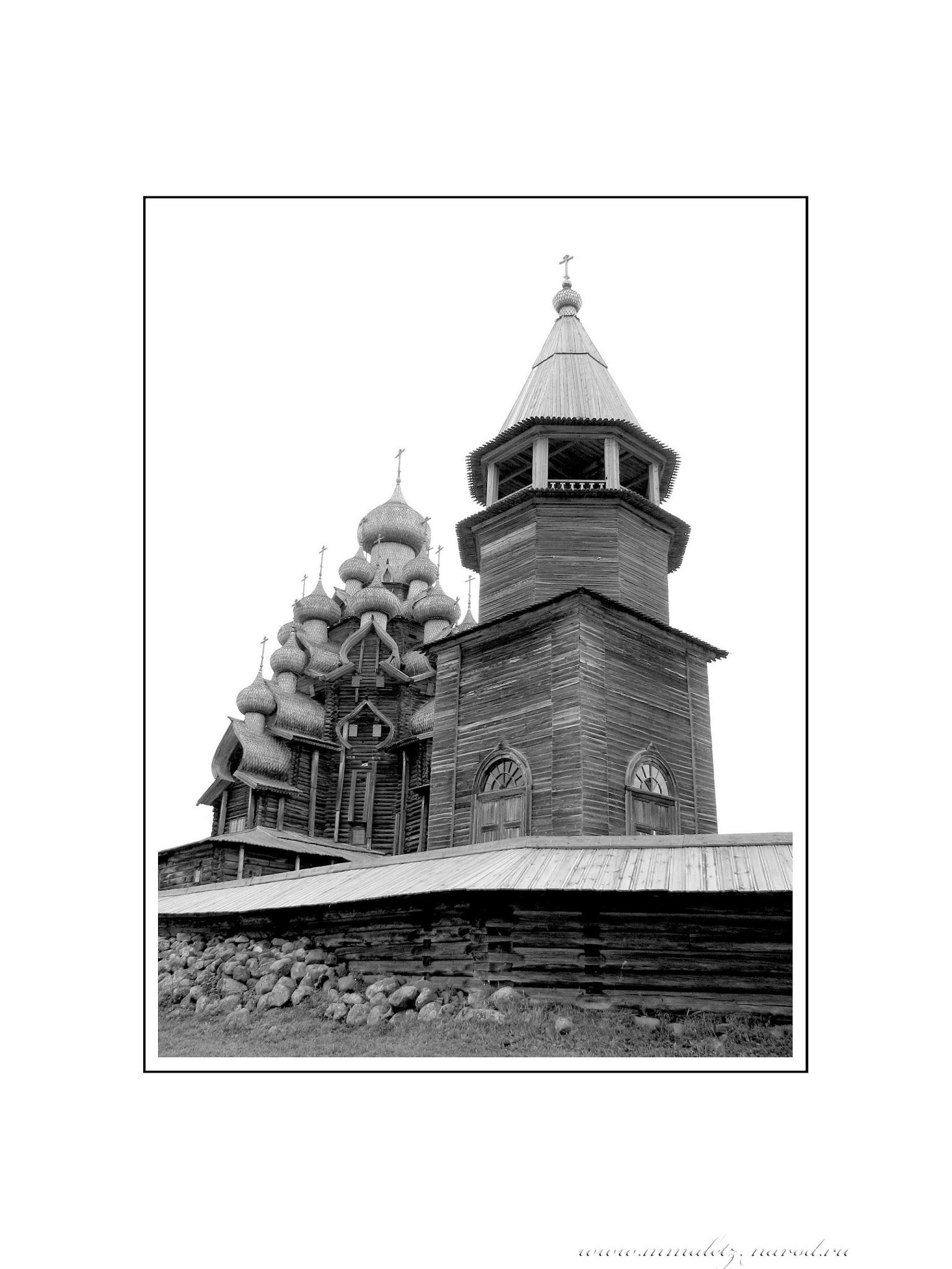 Кижи. Преображенская церковь 2